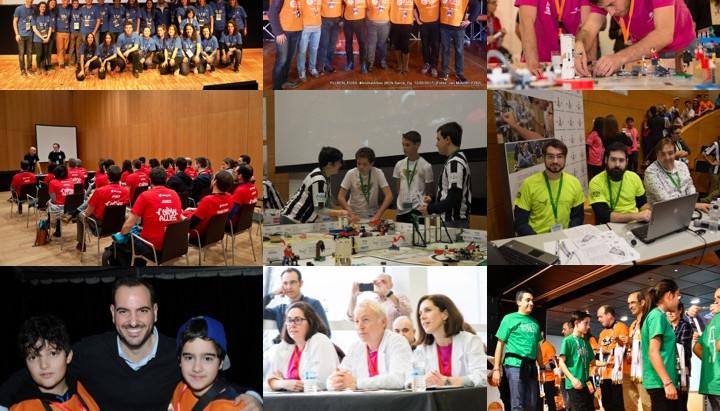Los voluntarios de FIRST LEGO League