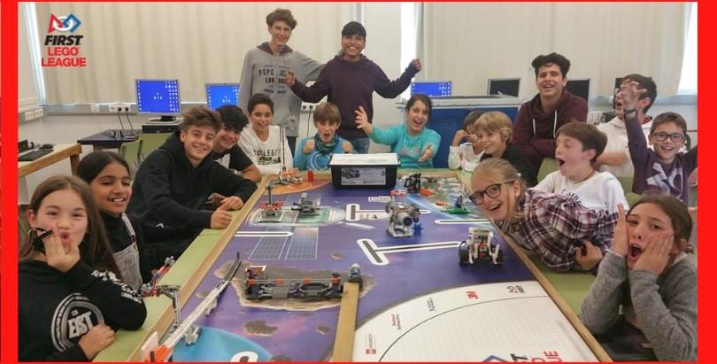 Una experiencia inspiradora de los Valores FIRST LEGO League