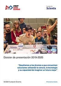 Dosier de presentación FIRST LEGO League 2019 - 2020