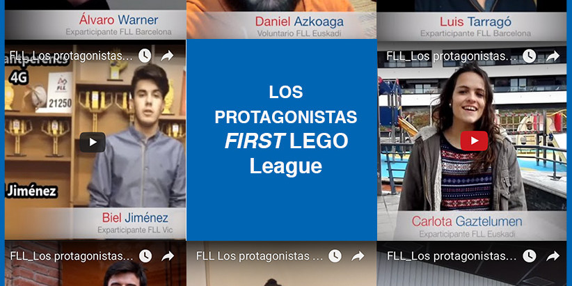Los Protagonistas de FIRST LEGO League