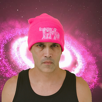 TiMo Pink Beanie, TiMo clothes, TiMo clothing, TiMo apparel