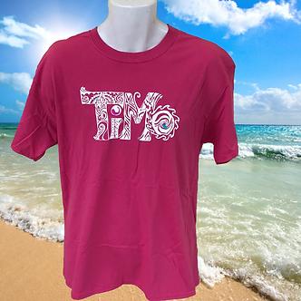 TiMo Pink T-shirt, TiMo clothes, TiMo clothing, TiMo apparel