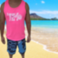 TiMo Pink Tank Top