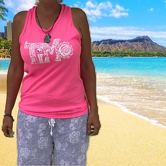 TiMo Pink Tank Top, TiMo clothes, TiMo clothing, TiMo apparel