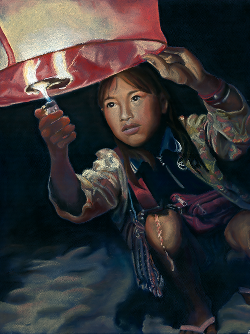 Hope: Part 2 - Giclee Fine Art Print A1 & A2