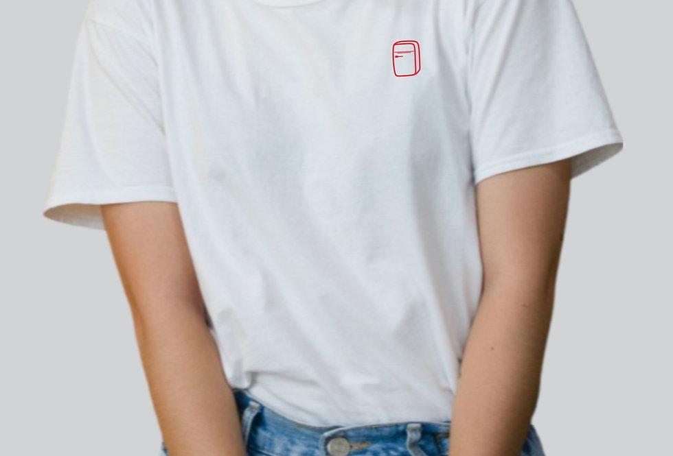 T-shirt in cotone con stampa FRI-go LOGO