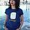 Thumbnail: T-shirt in cotone con stampa FRI-go BEACH