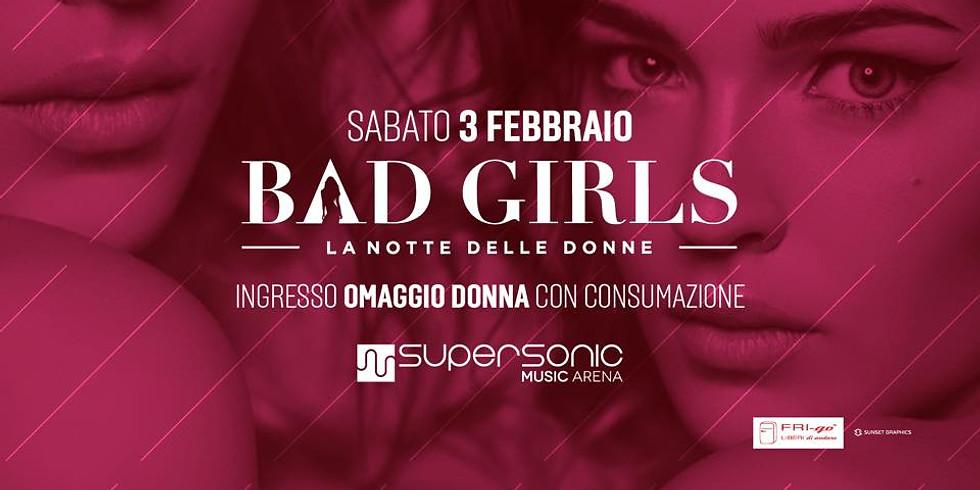 FRI-go al Supersonic Music Arena   LA NOTTE DELLE DONNE