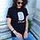 Thumbnail: T-shirt in cotone con stampa FRI-go BLACK