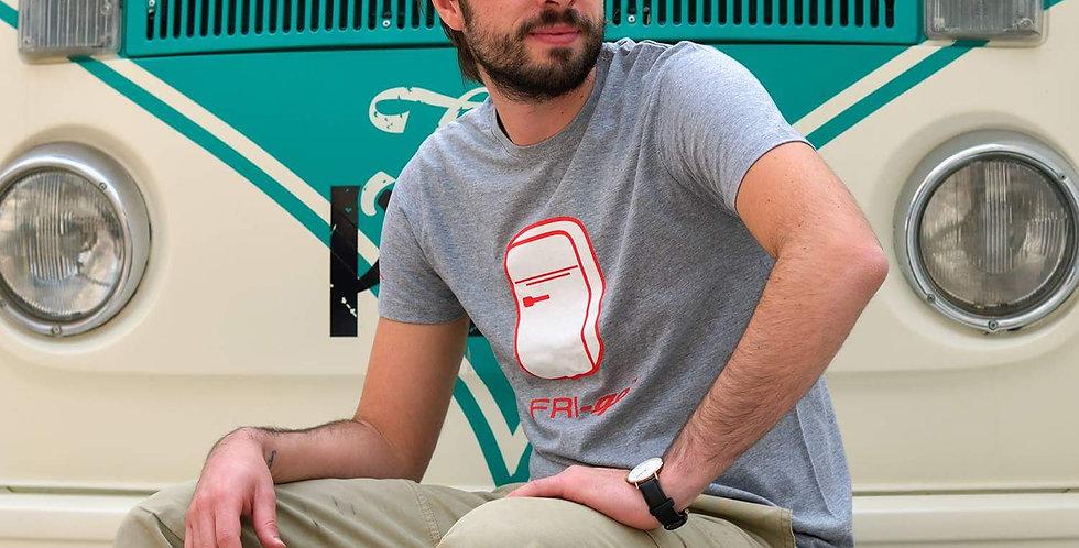 T-shirt in cotone con stampa FRI-go CLASSIC
