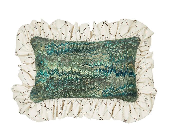 1970 Linen Cushion - Oceano