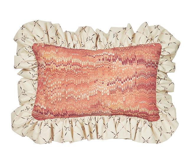 1970 Linen Cushion - Rosa