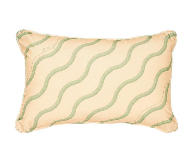 Bellisima Rectangle Velvet Cushion - Mela