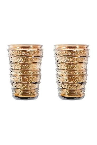 Set of 2 Glassware - Cocoa