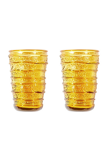 Set of 2 Glassware - Ginger