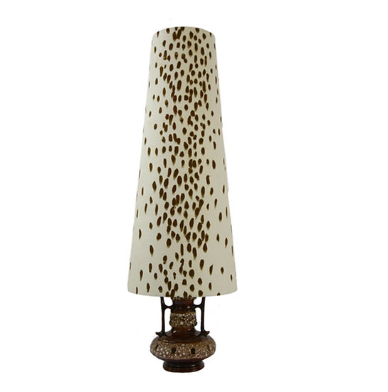Linen Cone Lampshade - Large