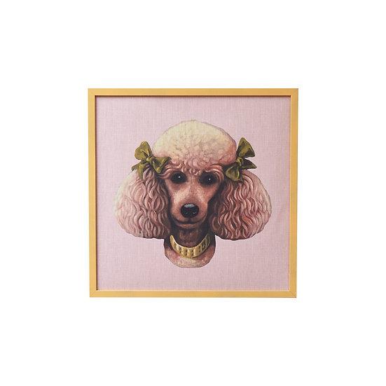 Poodle Parlour Art Print - Pearl