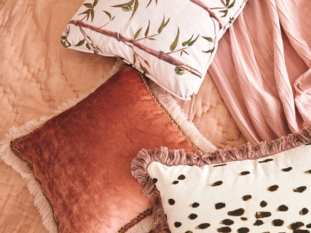 Sustainable and luxury cushions, check.