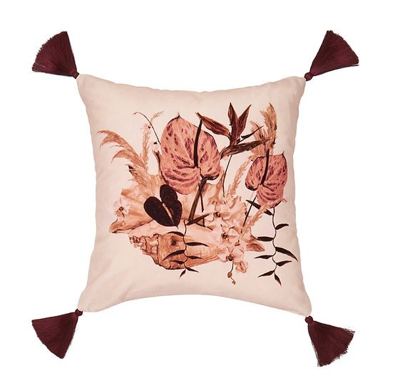 Mazzo Velvet Cushion - Rosa