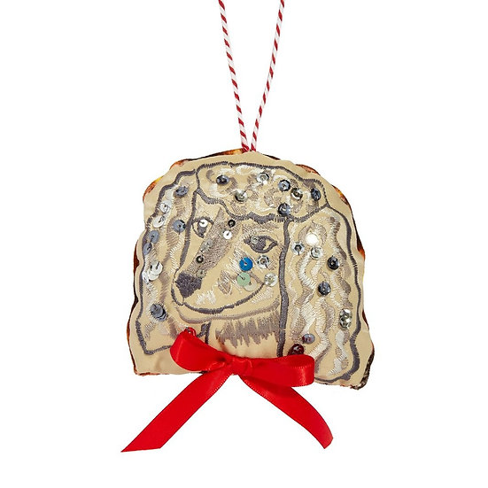 Decoration by Kate Gwilliam - Brian the poodle