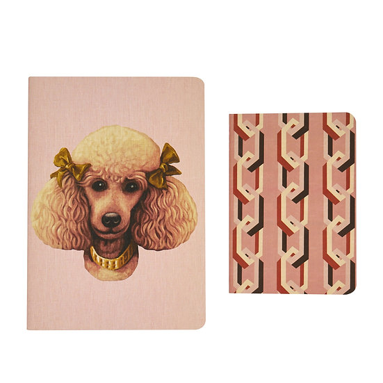 Luxury Notebooks - Poodle Parlour x Chain of Fools