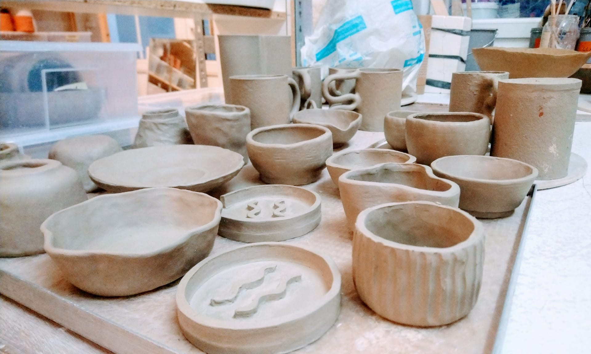 POTTERY INTRO COURSE - in English