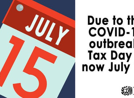 THE JULY 15TH DEADLINE IS 22 DAYS AWAY! CHANGES IMPACT MORE THAN JUST FOR THE 2019 INDIVIDUAL TAX RE
