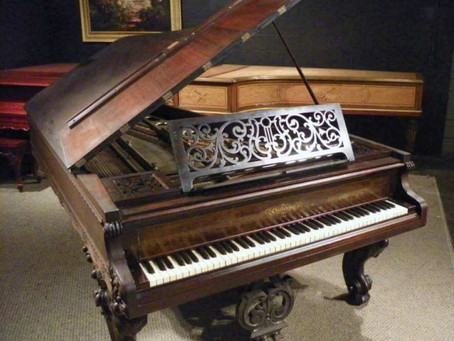 「ピアノの前身楽器」について♪ピアノの歴史 その1