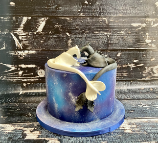 How To Train Your Dragon Wedding Cake