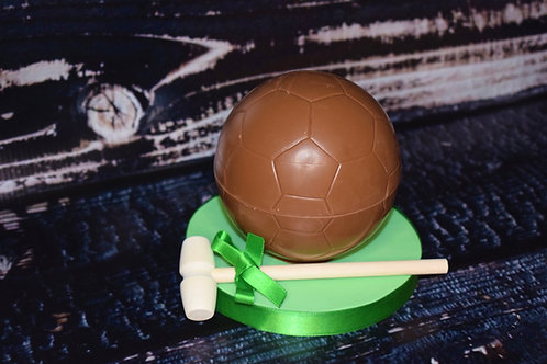 Sweet Filled Chocolate Football