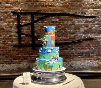 Gaming Wedding Cake