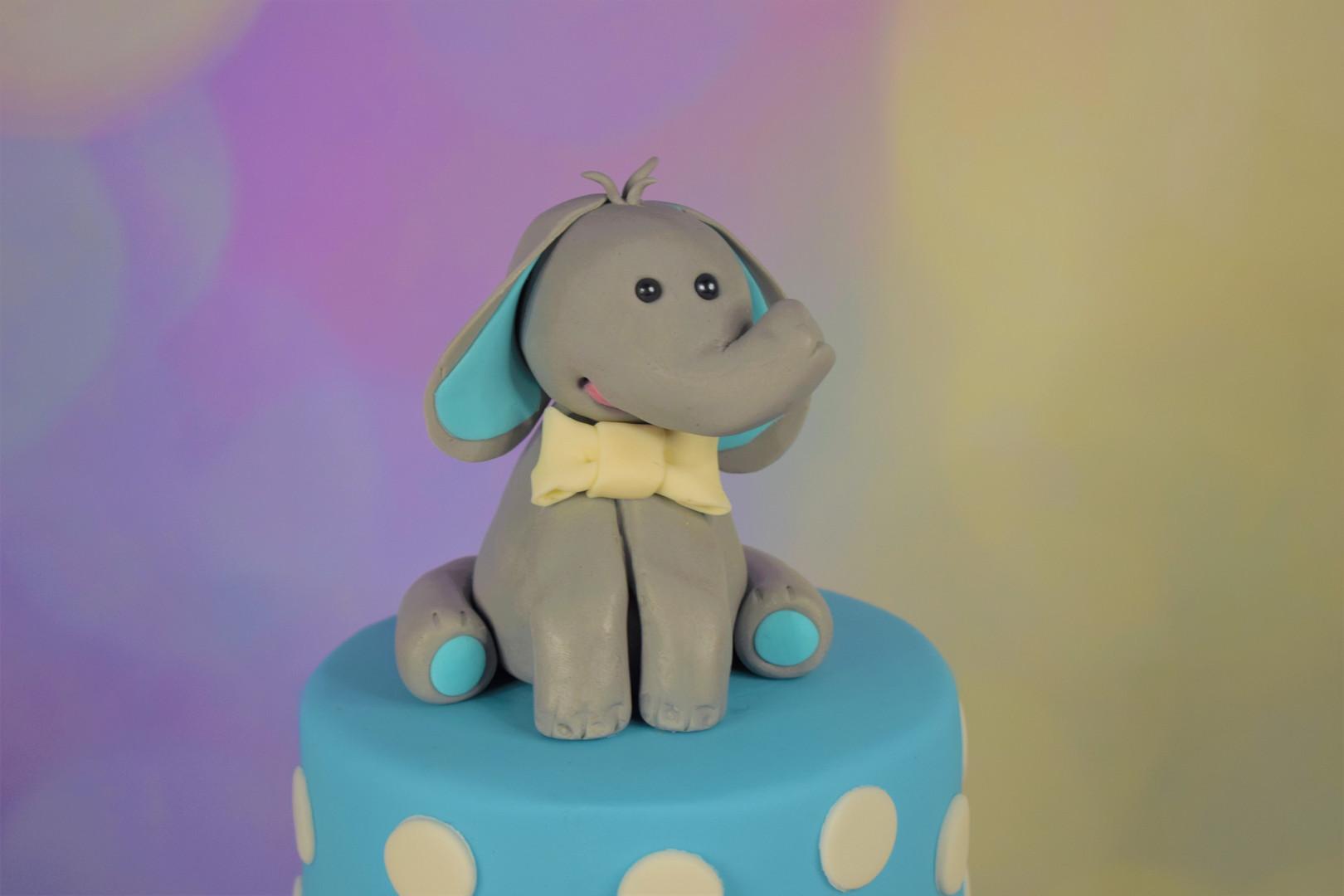 Elephant Christening Cake (5).JPG