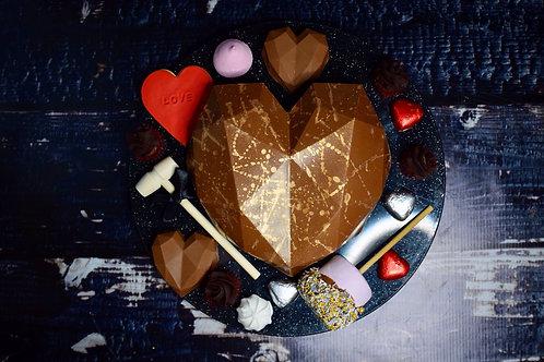 Luxe Chocolate Smash Heart