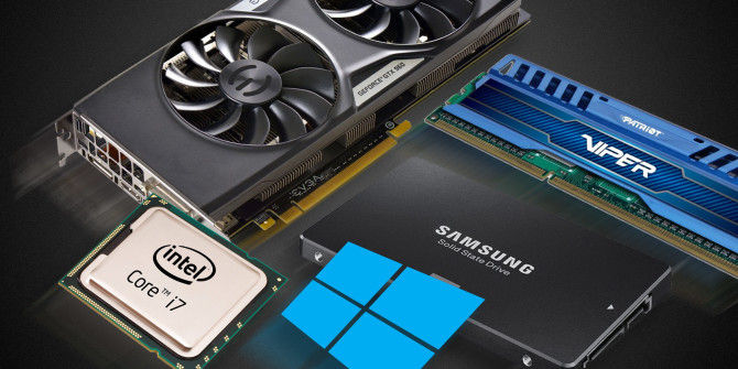 PC hardware upgrade service.