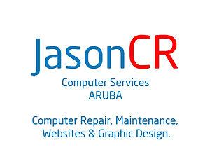 JasonCR Computer Services Logo Aruba