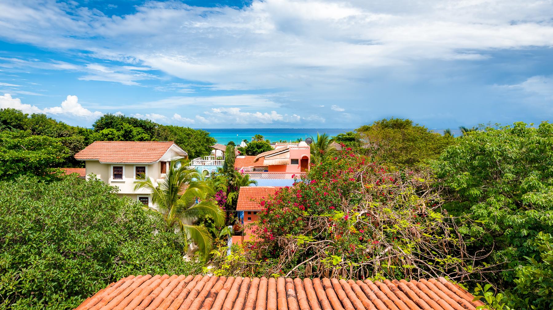 Sombra Verde Terrace View