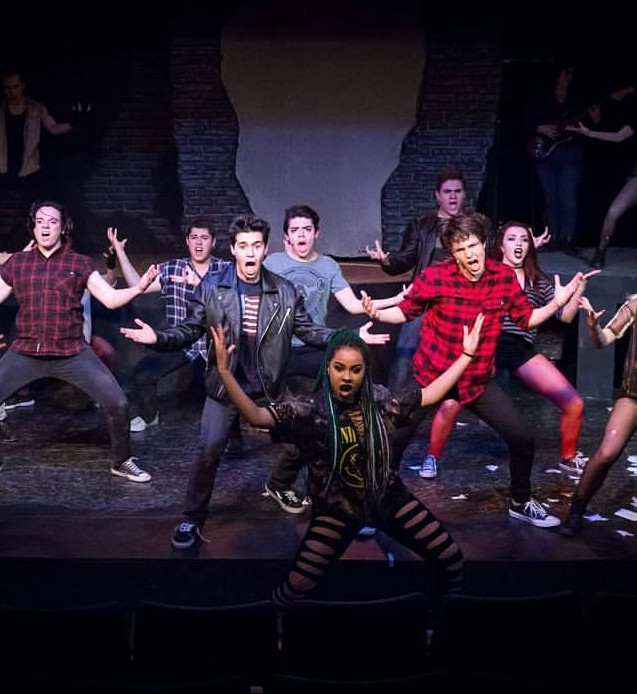 Phoebe Koyabe as Alysha in American Idiot at Spotlight Theatre