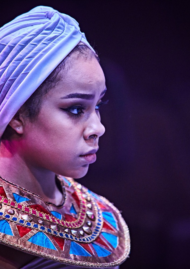 Phoebe Koyabe in Aida at Hale Center Theatre