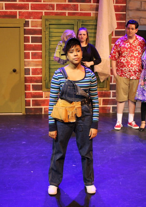 Phoebe Koyabe as Gary Coleman in Avenue Q at Desert Foothills Theater