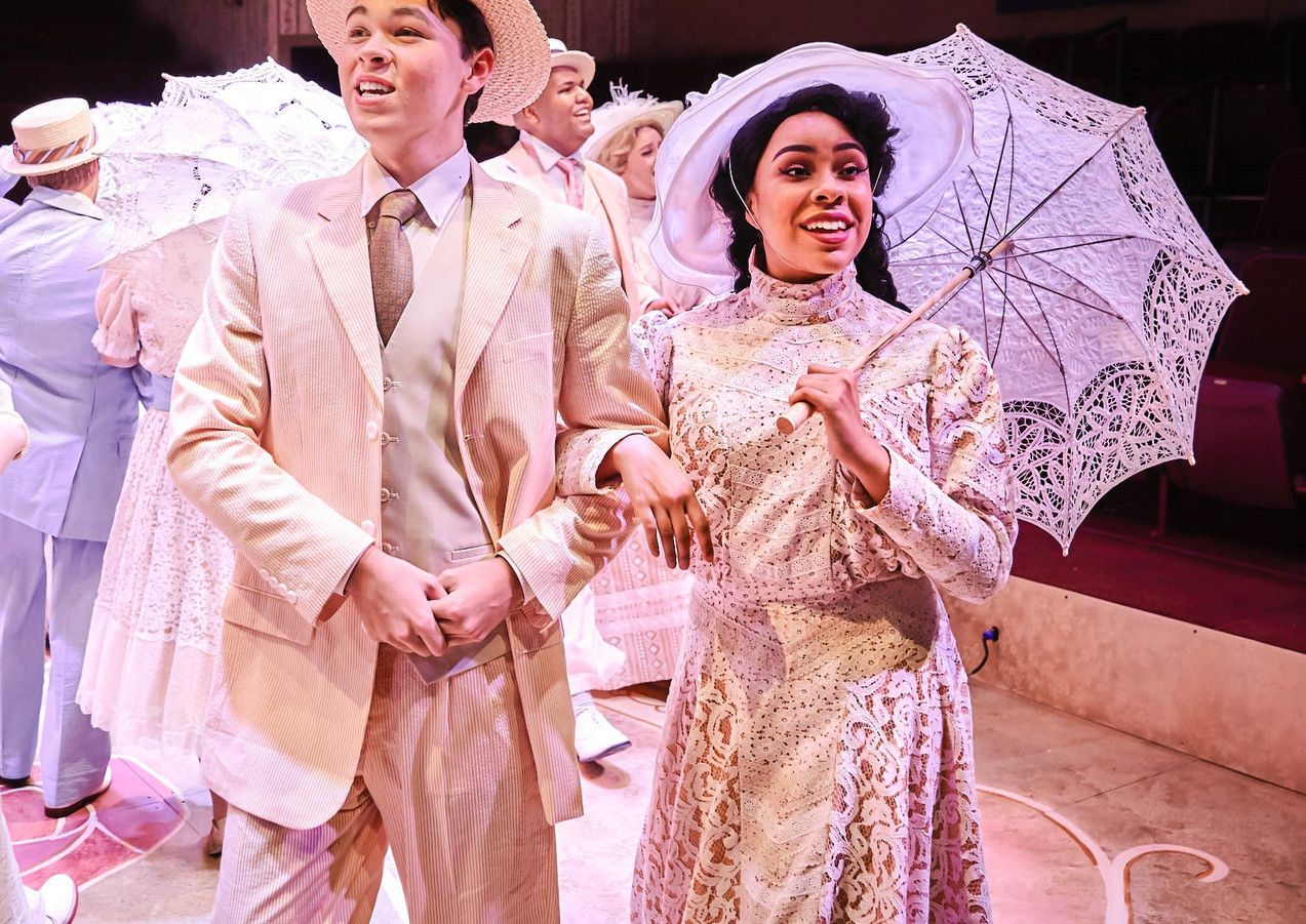 Phoebe Koyabe as ensemble in Meet Me in St Louis at Hale Center Theatre