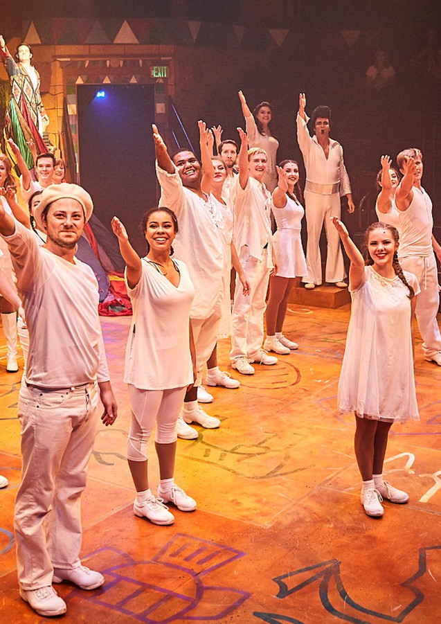 Phoebe Koyabe as Brother's Wife in Joseph and The Amazing Technicolor DreamCoat at Hale Center Theatre