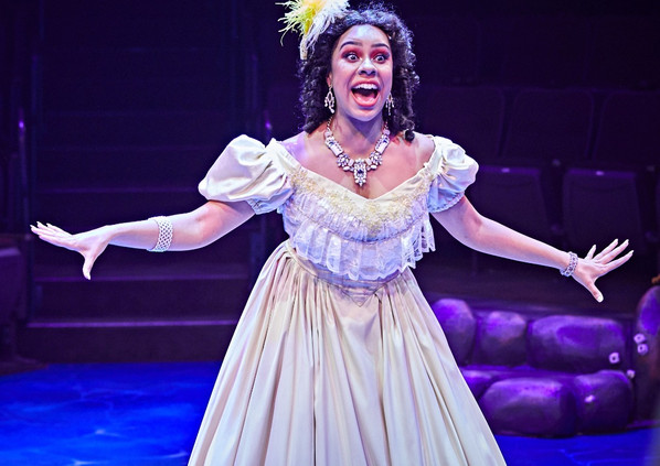 Phoebe Koyabe as Adella in The Little Mermaid at Hale Center Theatre