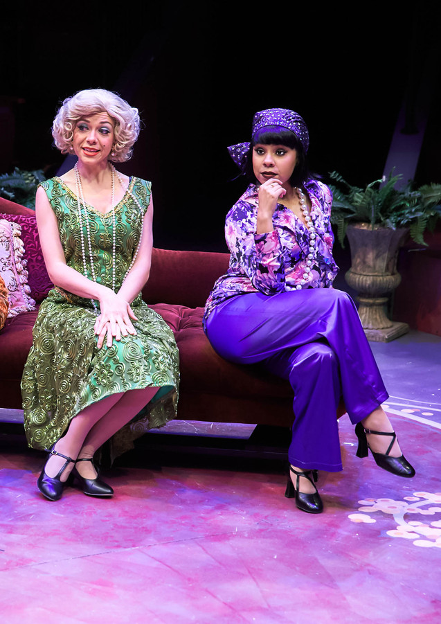 Phoebe Koyabe as Betty Brown in No, No, Nanette at Hale Center Theatre