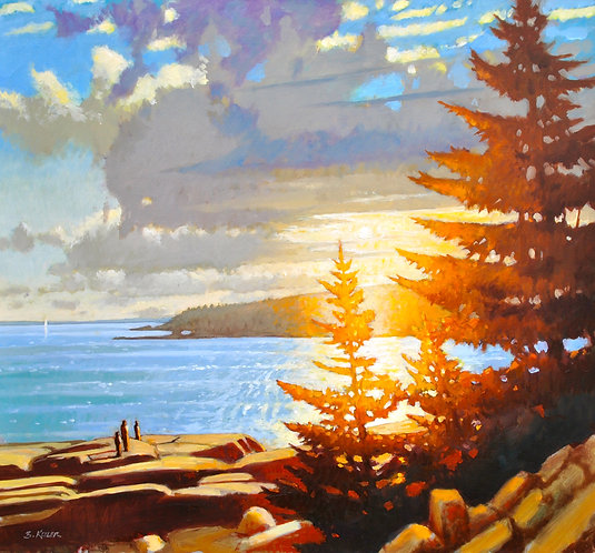 Acadian Light, Otter Pt., Maine