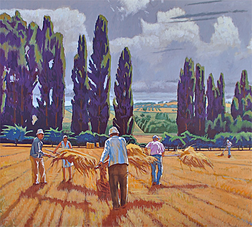 Umbrian Field Hands, Italy