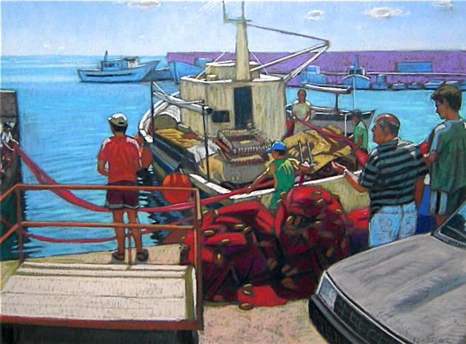 Loading Nets Lipari, Italy