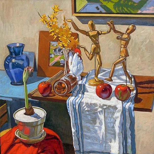 Still Life With Dancing Man