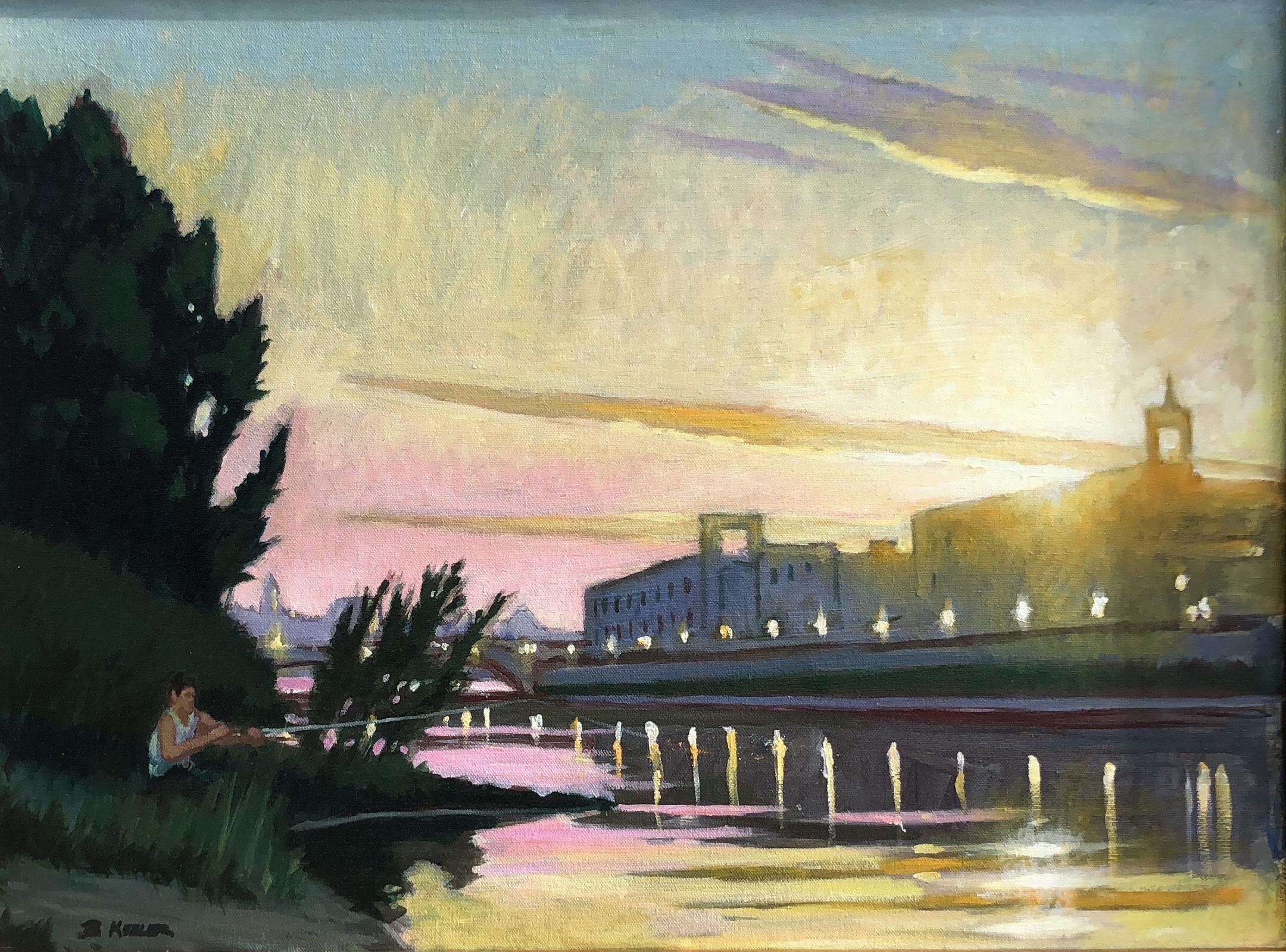 Arno Evening, Florence
