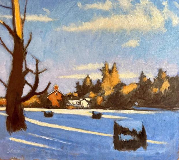 Ellis Hollow Winter Light