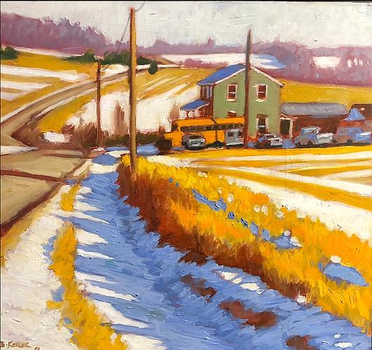 Sheshequin Township Winter